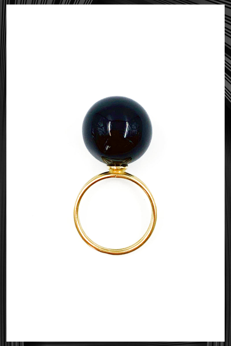 Onyx Double Ring