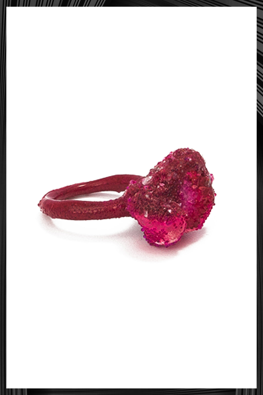 Coral Crush Ring