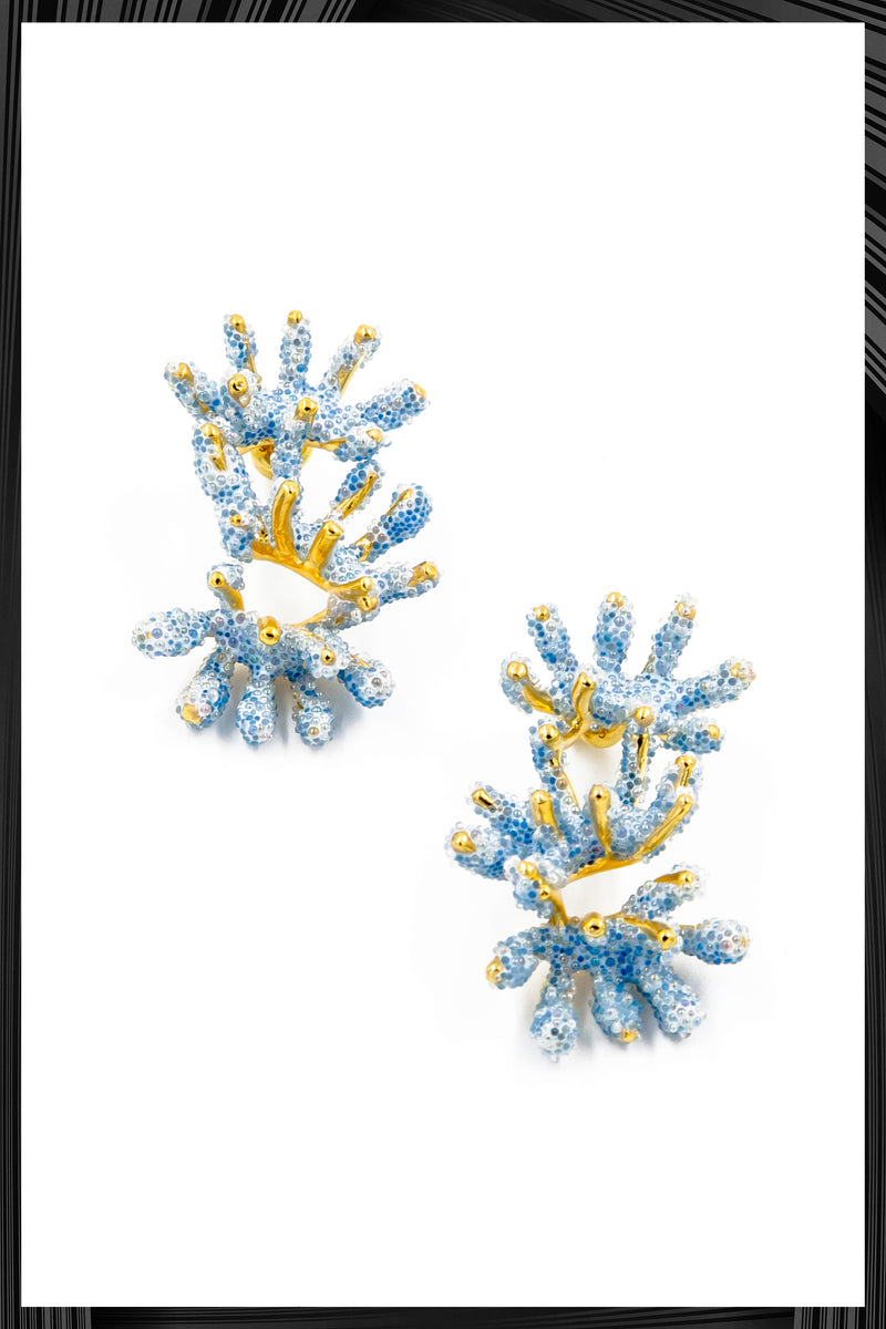 Light Blue Sandrine Earrings