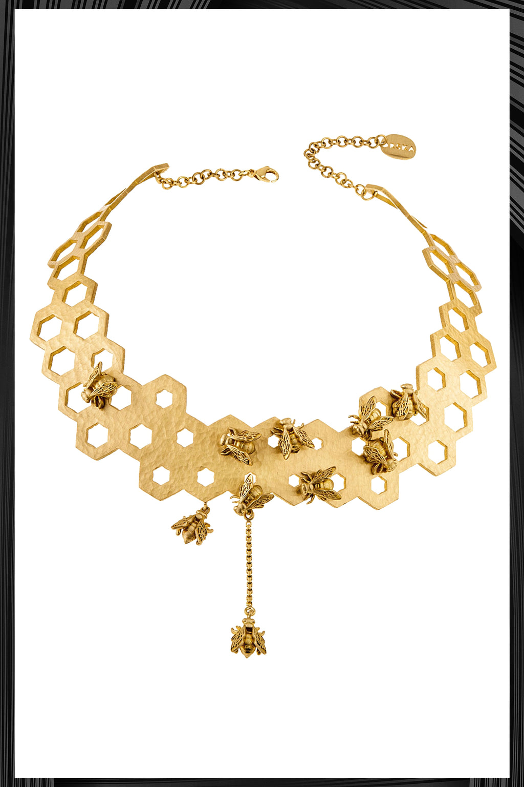 Honey Comb Necklace | Free Delivery - Quick Shipping