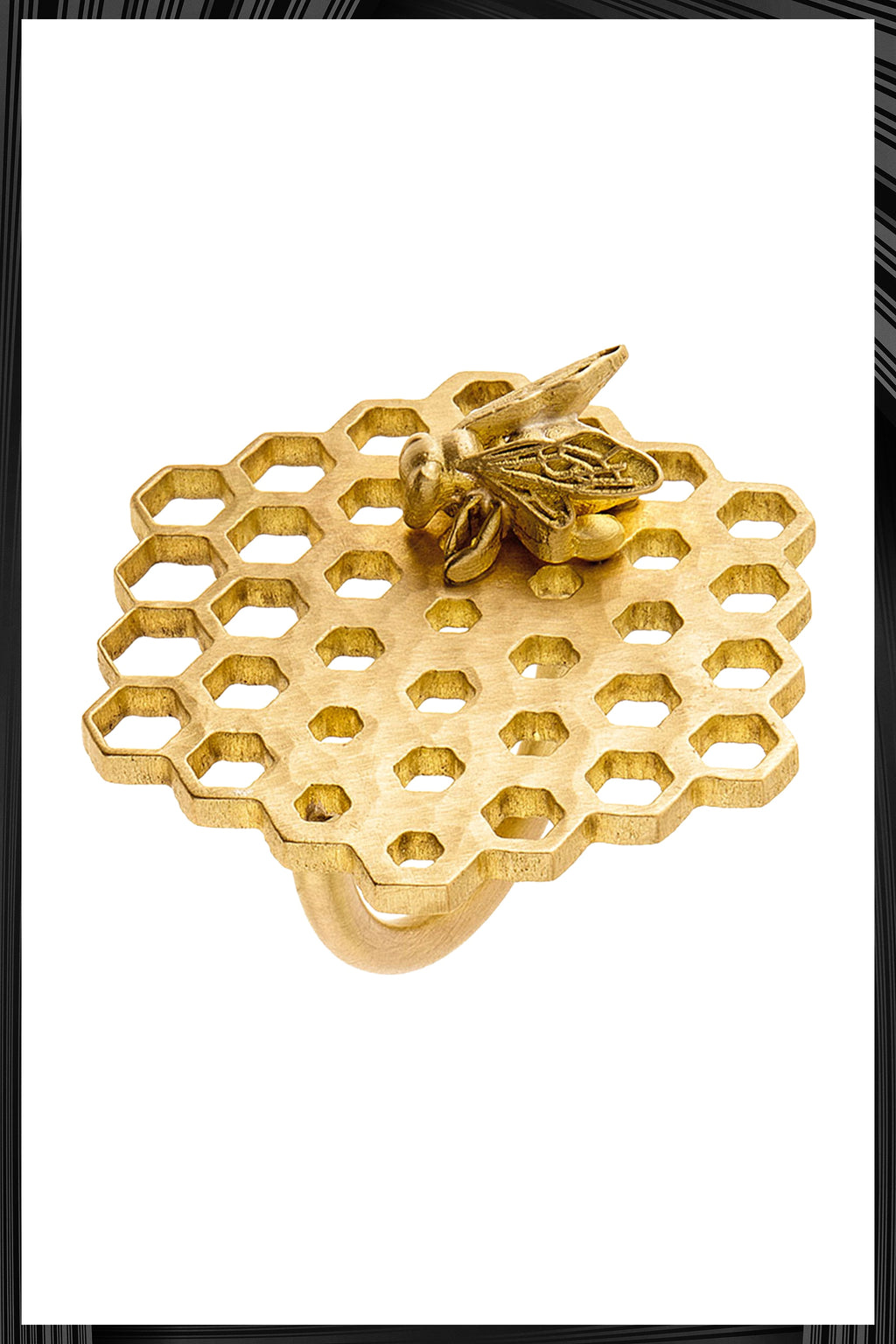 Honey Comb Ring | Free Delivery - Quick Shipping
