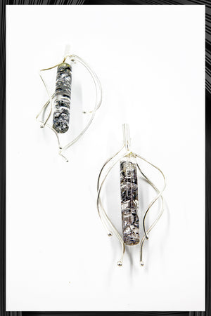 Silver Radiance Earrings