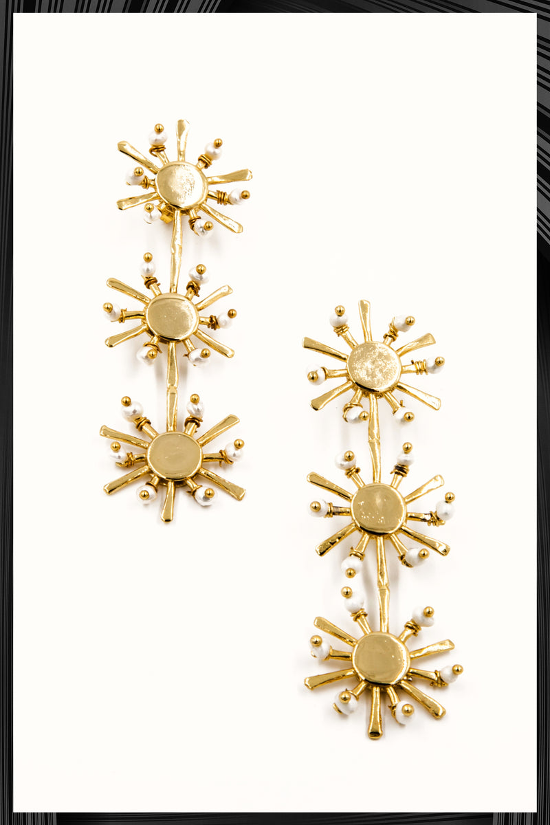 Sunshine Long Earrings | Free Delivery - Quick Shipping