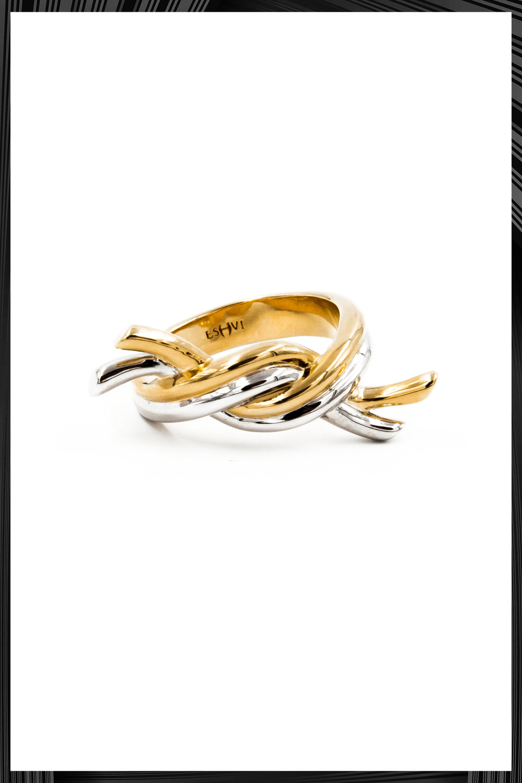 Gold Hula Hoops Ring