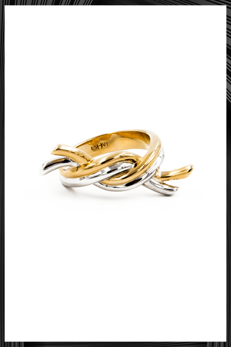 Gold Hula Hoops Ring | Free Delivery - Quick Shipping