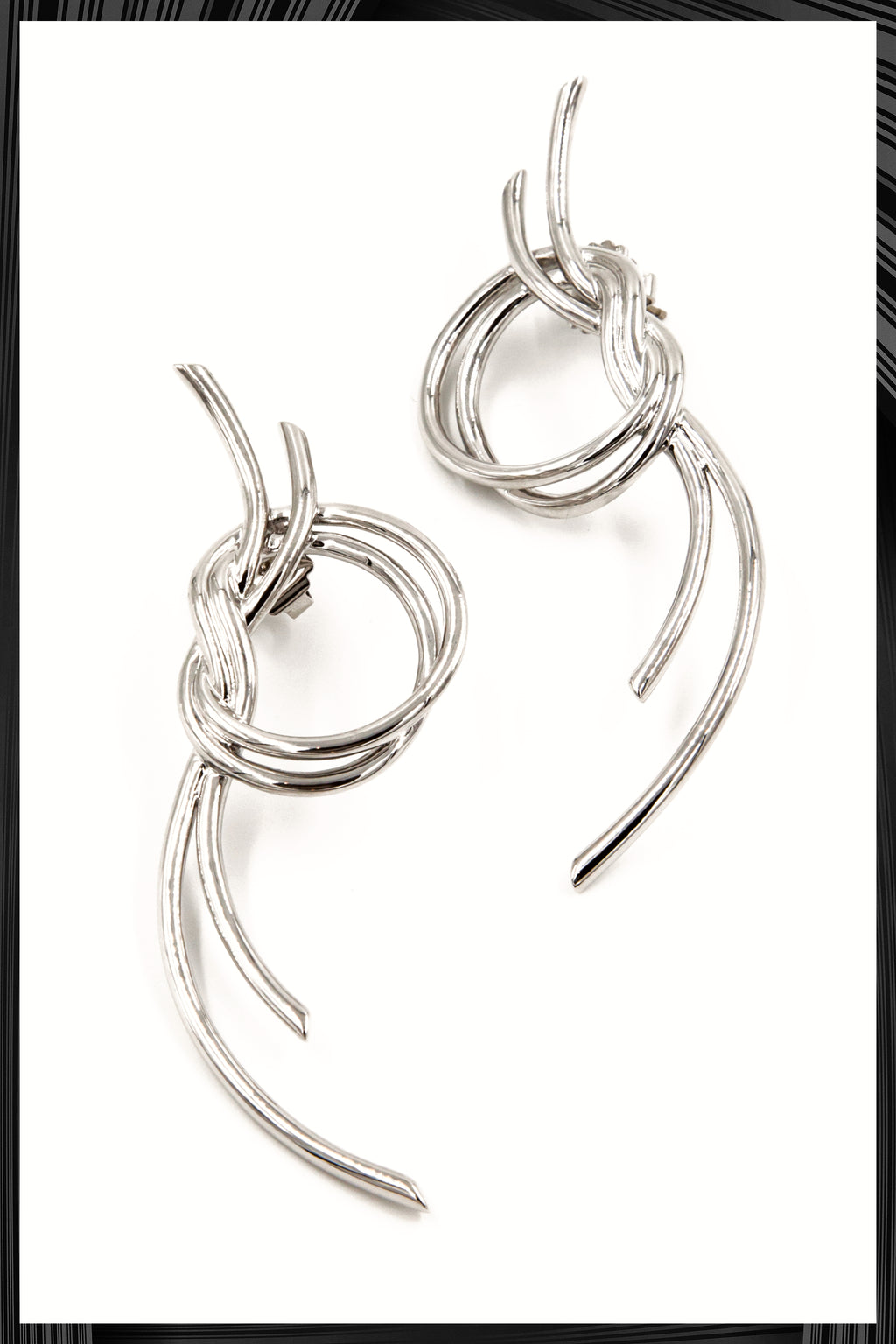 Venus Large Knot Earrings | Free Delivery - Quick Shipping