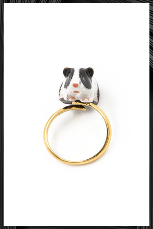 Guinea Pig Gold Ring