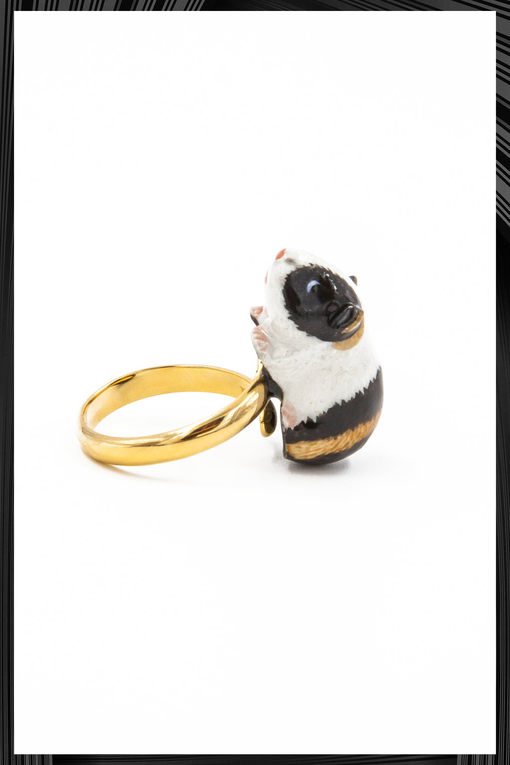 Guinea Pig Gold Ring | Free Delivery - Quick Shipping
