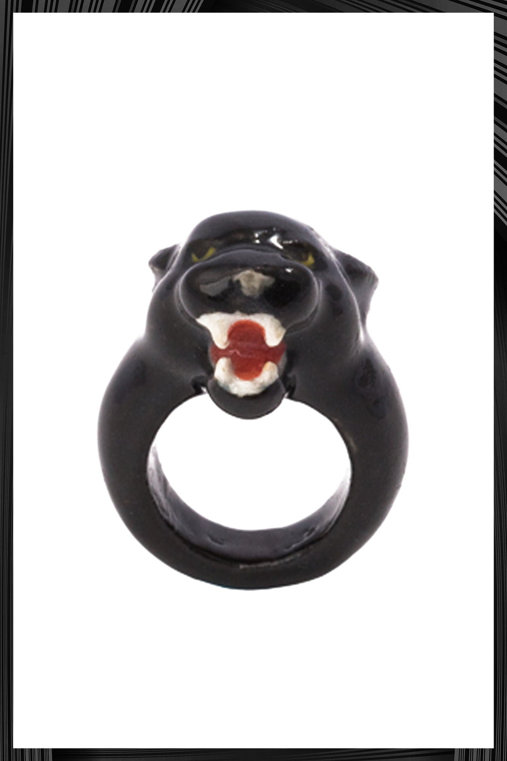 Roaring Black Panther Ring | Free Delivery - Quick Shipping
