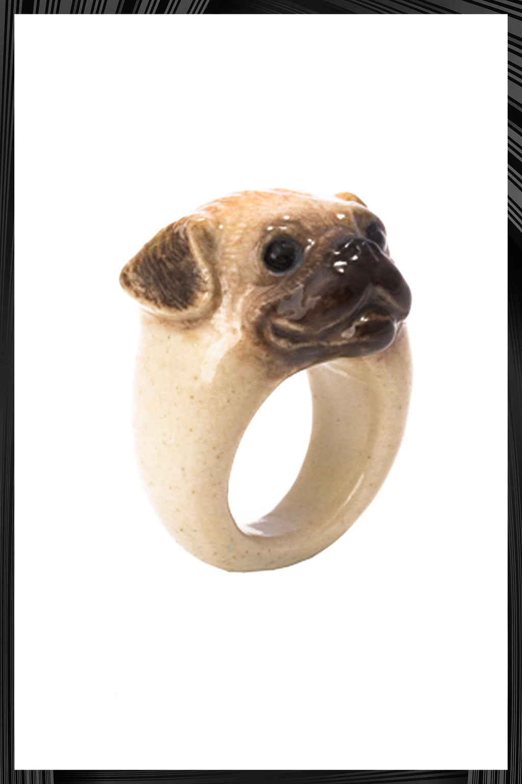 Pug Dog Ring | Free Delivery - Quick Shipping