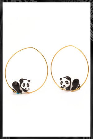 Panda Earrings | Free Delivery - Quick Shipping