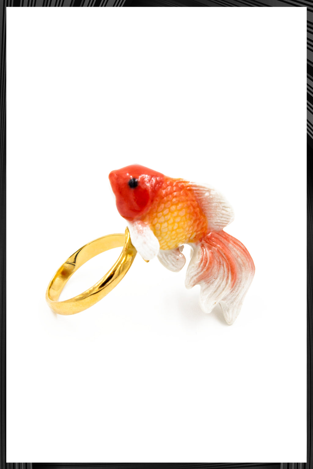 Goldfish Gold Ring | Free Delivery - Quick Shipping