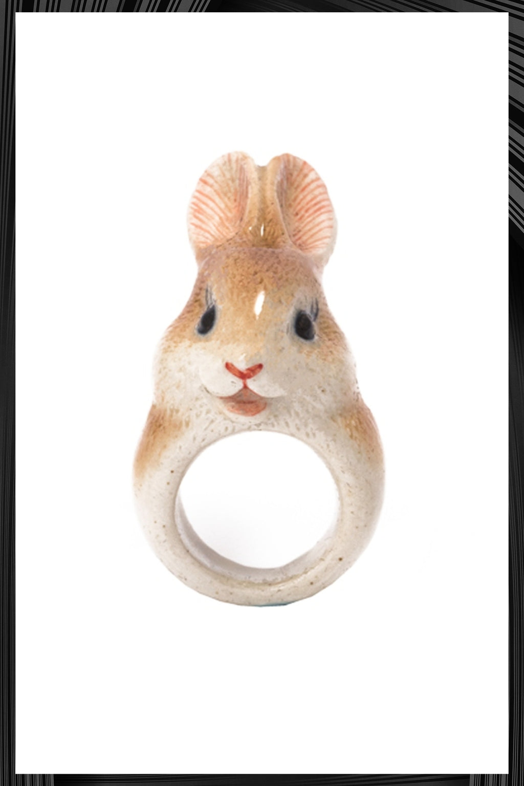 Brown Rabbit Ring | Free Delivery - Quick Shipping