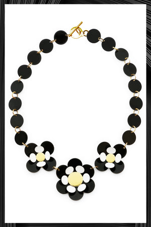 Black Oya Necklace | Free Delivery - 2-3 Weeks Shipping