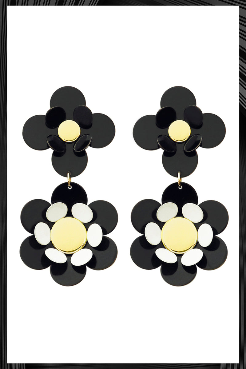 Black Oya Earrings