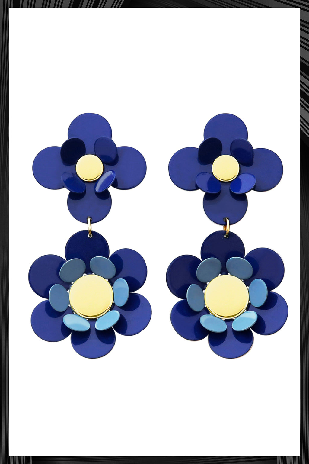Blue Oya Earrings