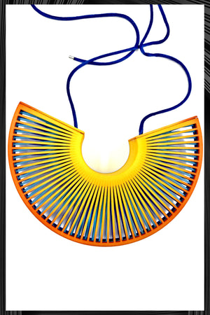 Phase Fan Necklace