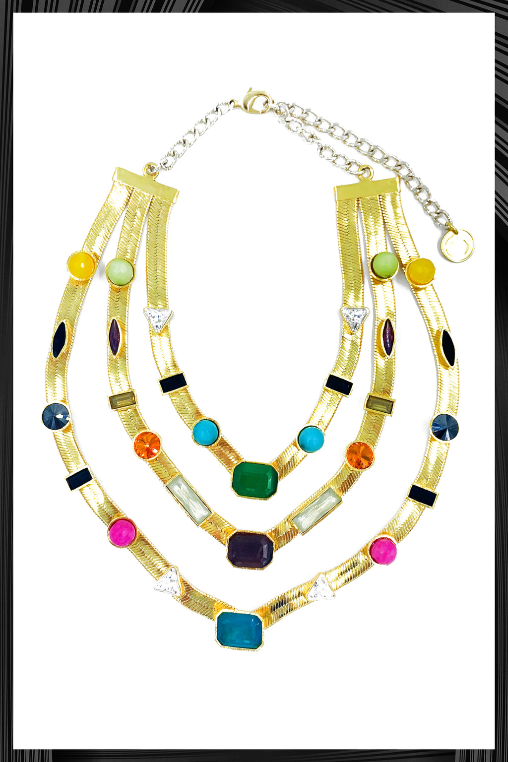 Three Layered Candy Necklace