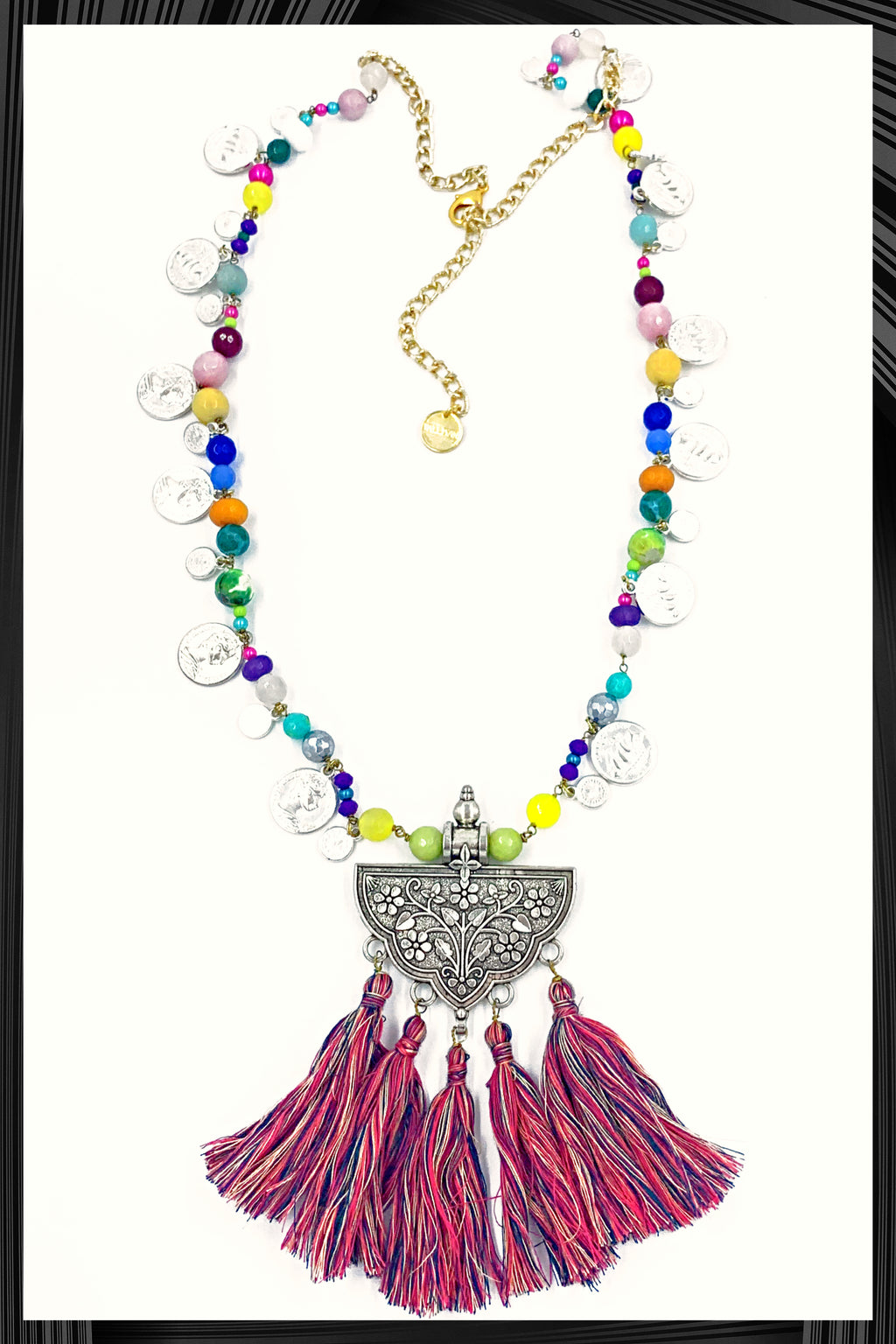 Chanda Tassel Necklace