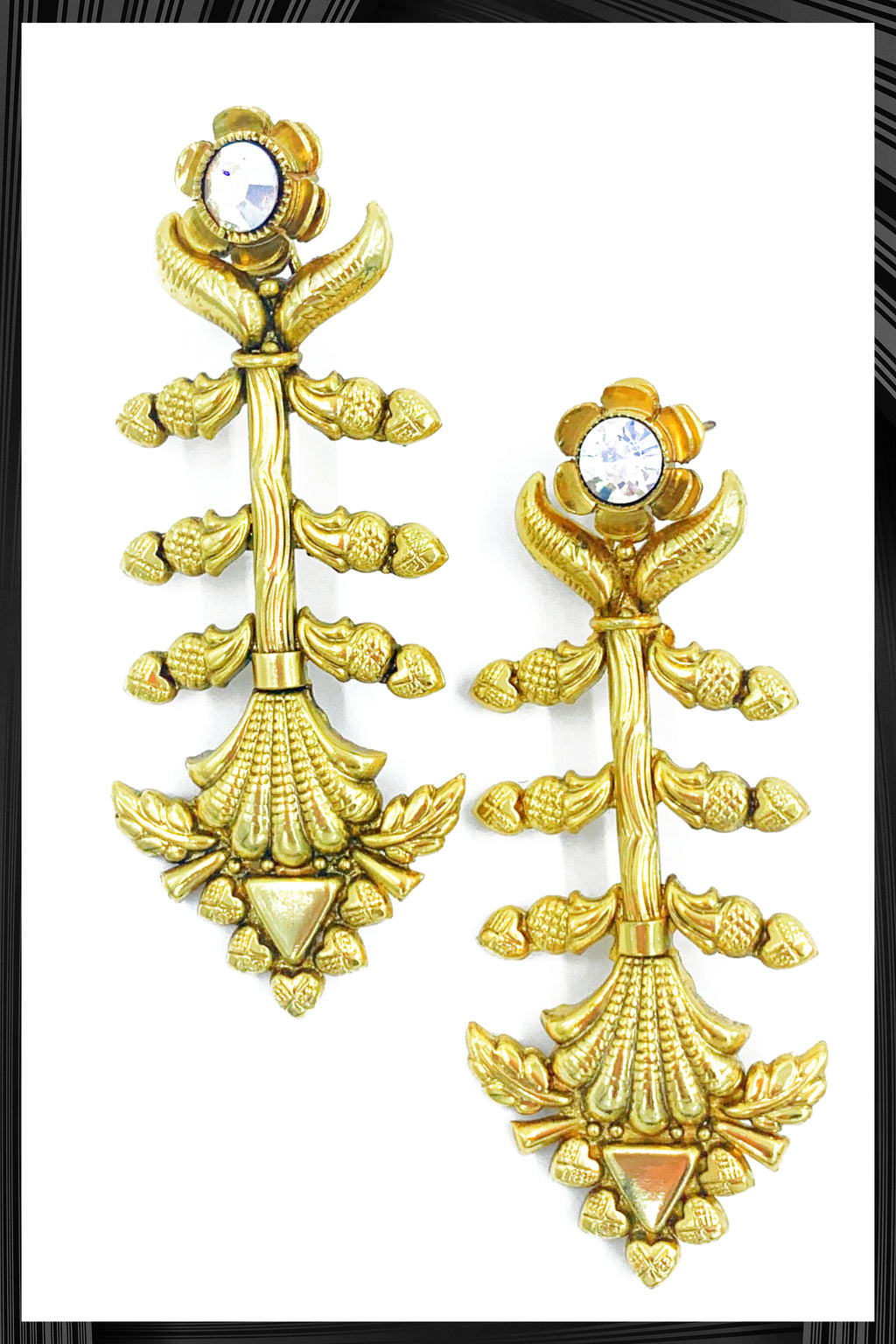 Gold Dalia Earrings