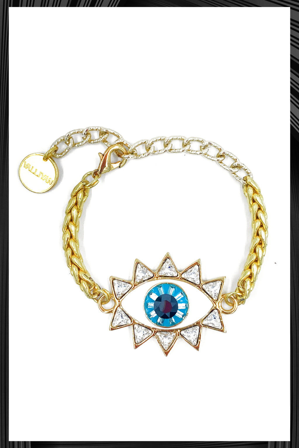Golden Evil Eye Bracelet | Free Delivery - Quick Shipping