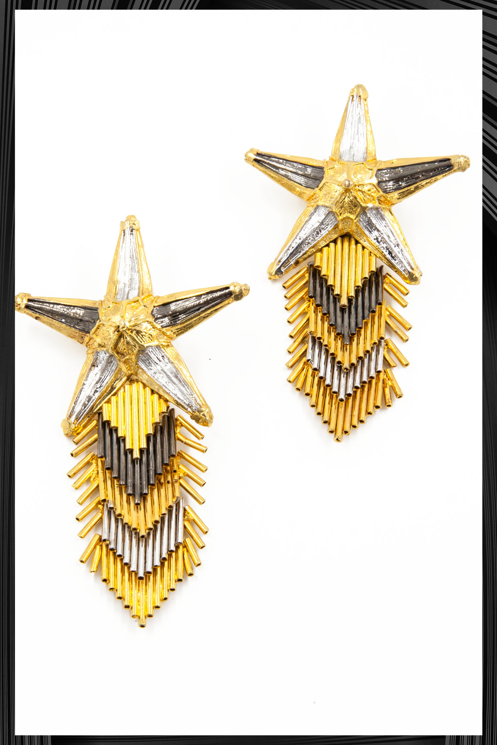 Star Spray Earrings