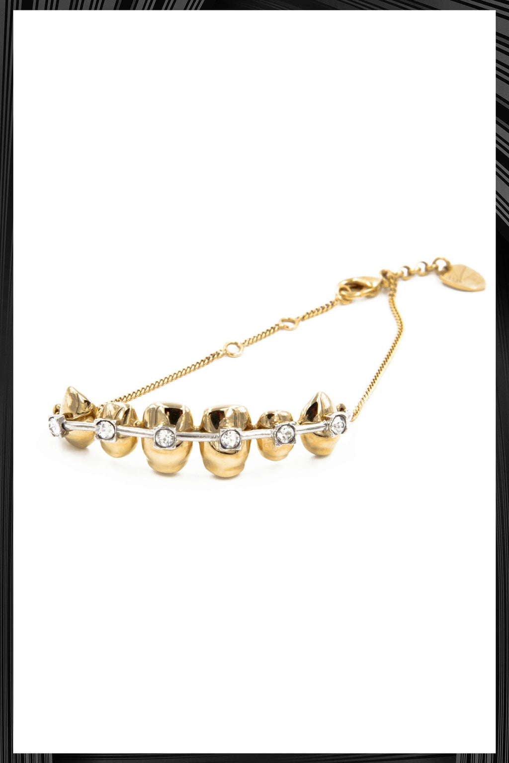 Gold Brackets Bracelet | Free Delivery - Quick Shipping