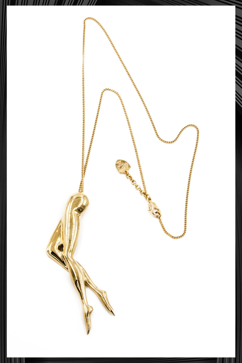 Golden Legs Necklace