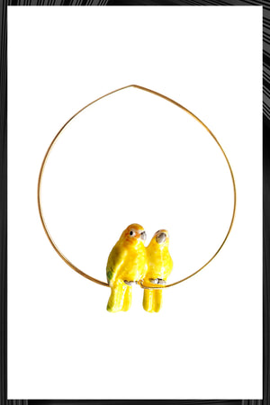 Love Bird Hoop Earrings | Free Delivery - Quick Shipping