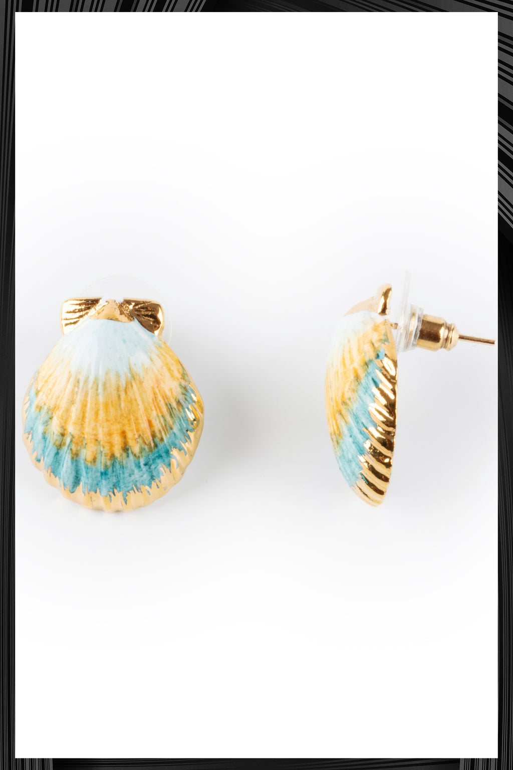 Blue Shell Earrings | Free Delivery - Quick Shipping