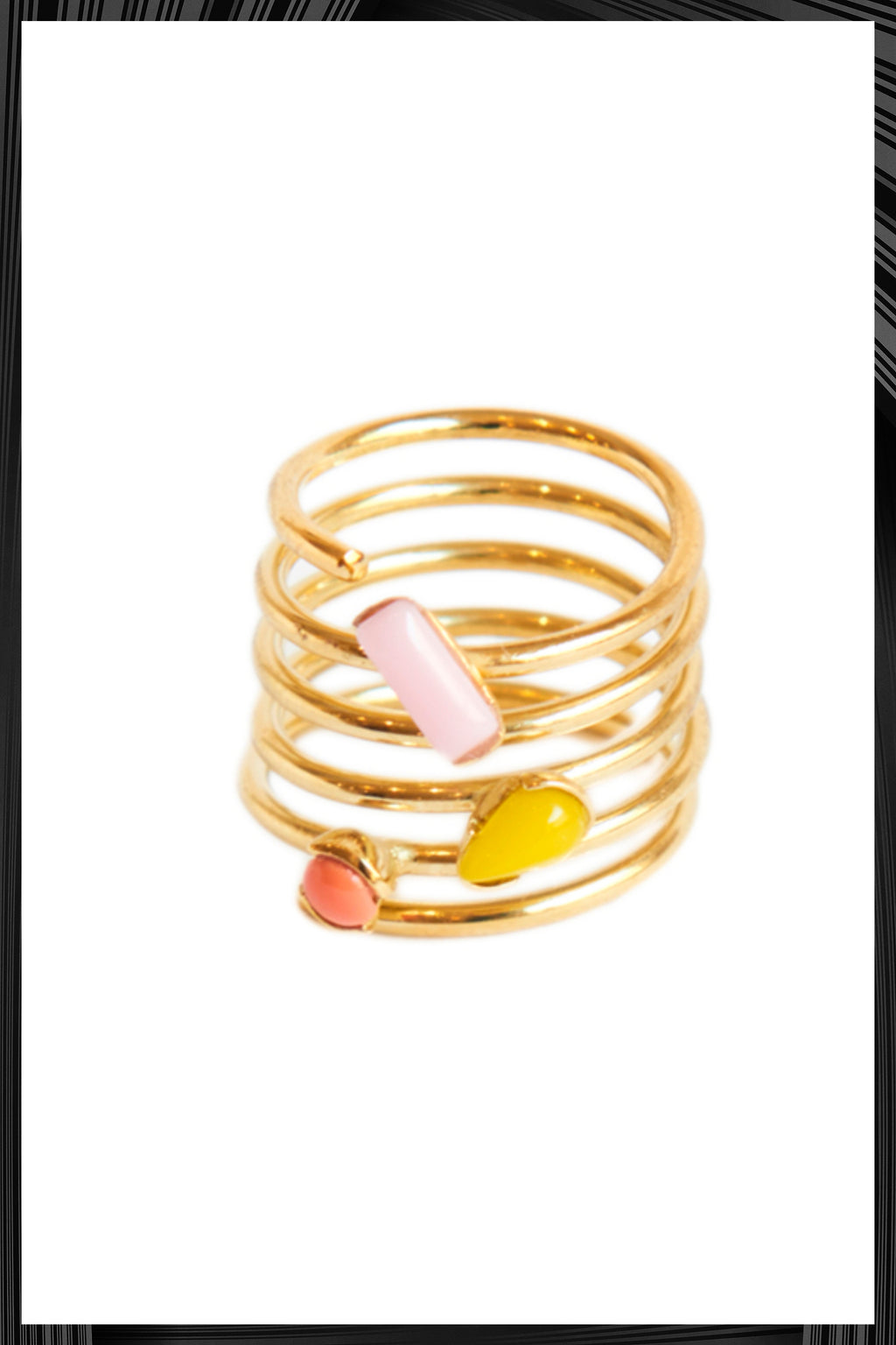 Six Spiral Ring | Free Delivery - 2-3 Weeks Shipping