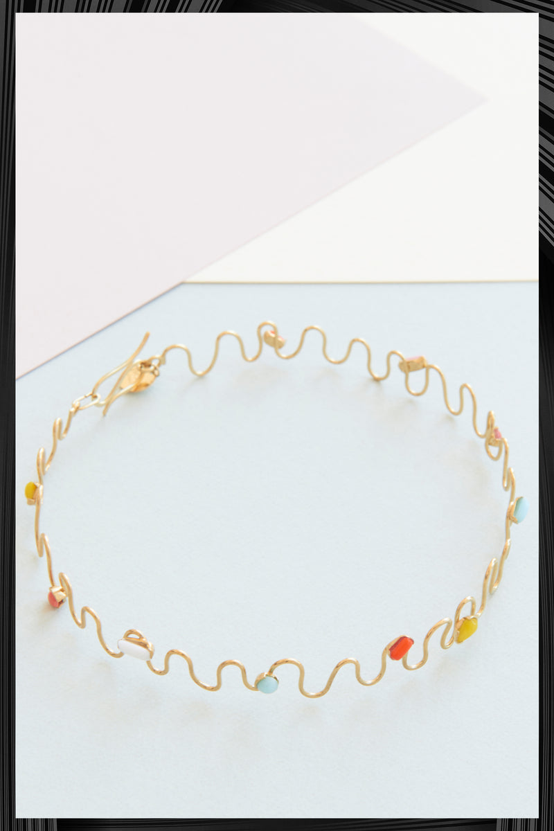 Six Waves Choker | Free Delivery - 2-3 Weeks Shipping