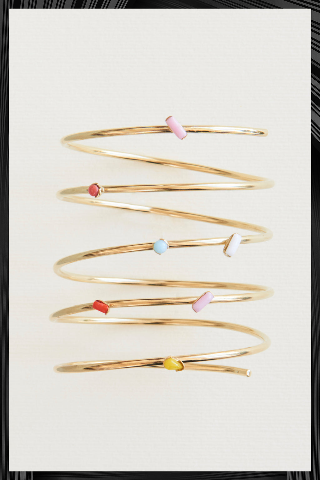 Six Spiral Bracelet | Free Delivery - 2-3 Weeks Shipping