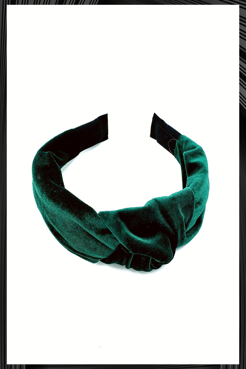 Emerald Green Knot Headband