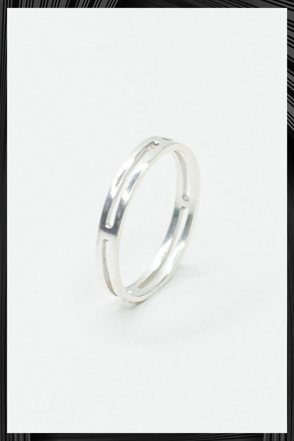 Single Not Married Silver Ring | Free Delivery - 2-3 Week Shipping
