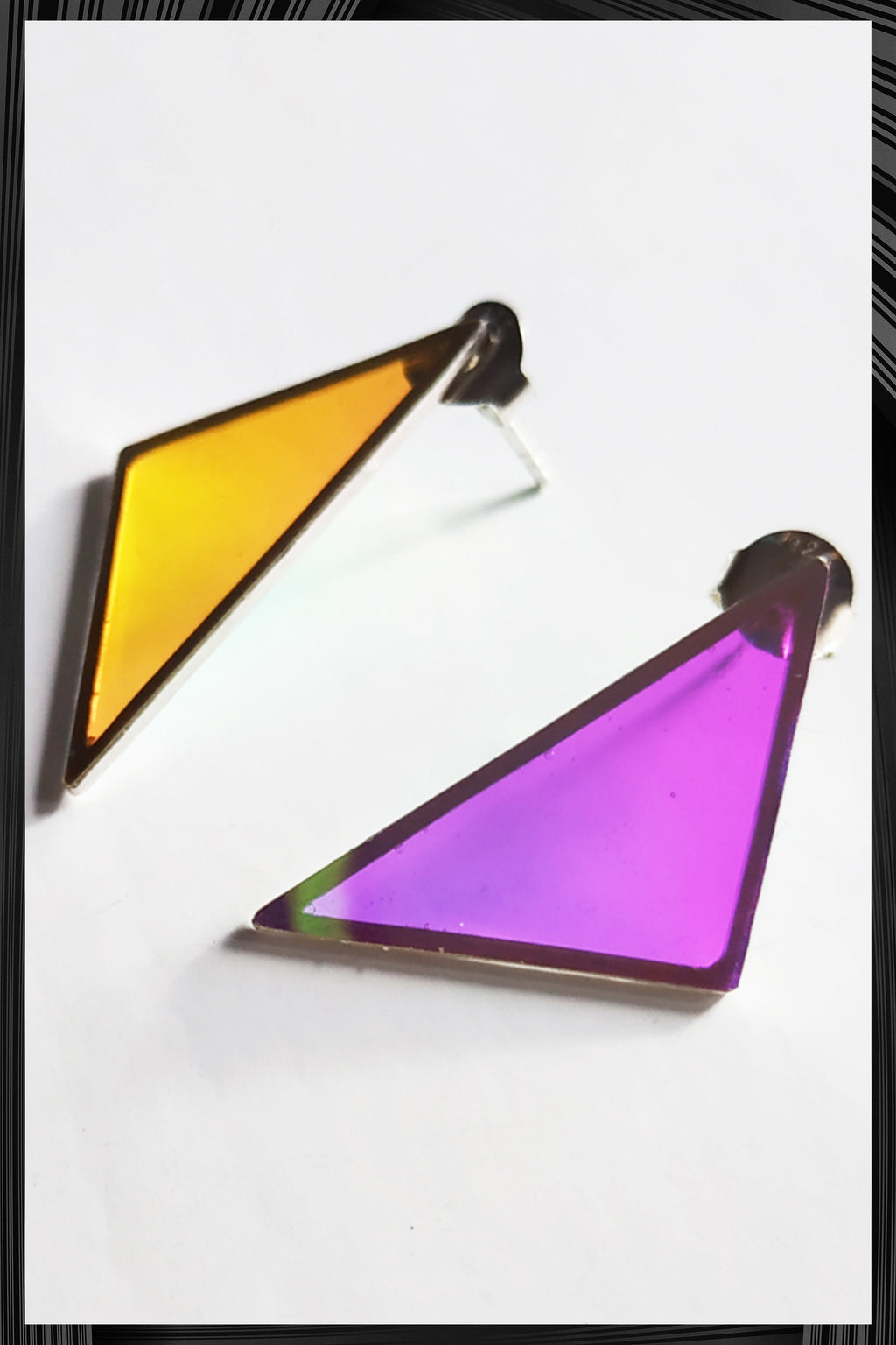 Triangle Earrings | Free Delivery - 2-3 Week Shipping