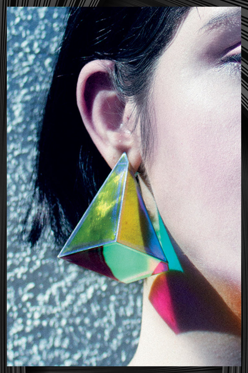 Pyramid Earrings | Free Delivery - 2-3 Week Shipping