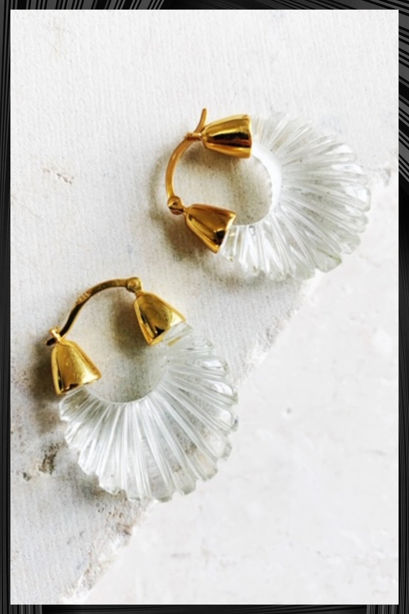 Crystal Clear Ettienne Earrings