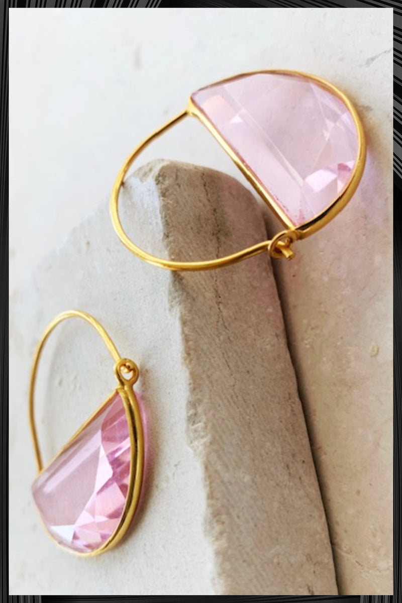 Imogen Soft Pink Earrings