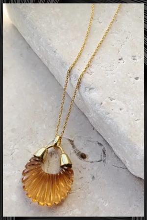 Champagne Ettienne Necklace