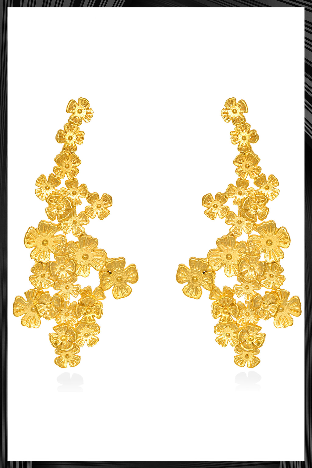 Kendra Wildflower Earrings | Free Delivery - 2-3 Weeks Shipping