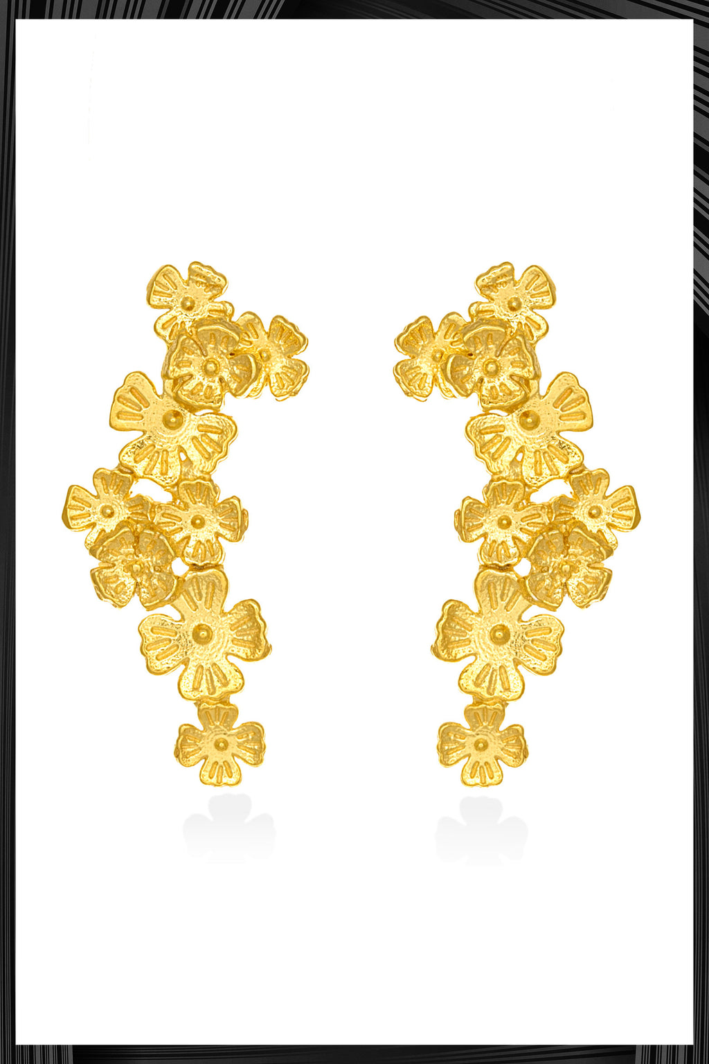 Sandra Wildflower Earrings | Free Delivery - 2-3 Weeks Shipping