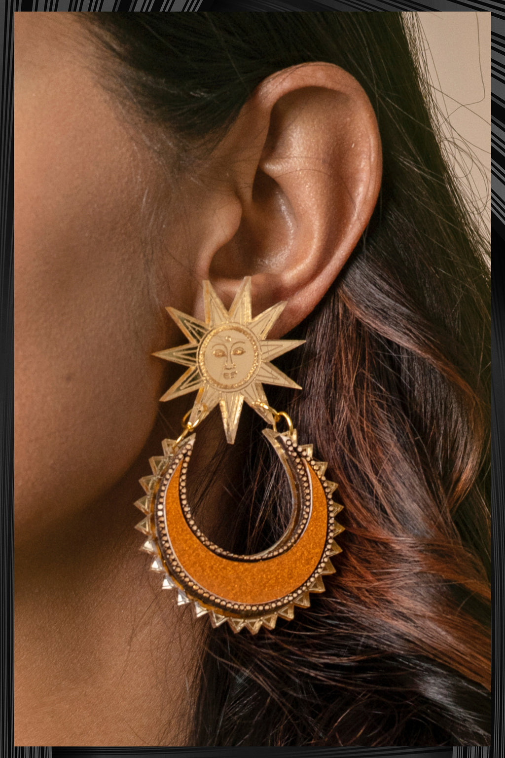 Sun-Chand Earrings