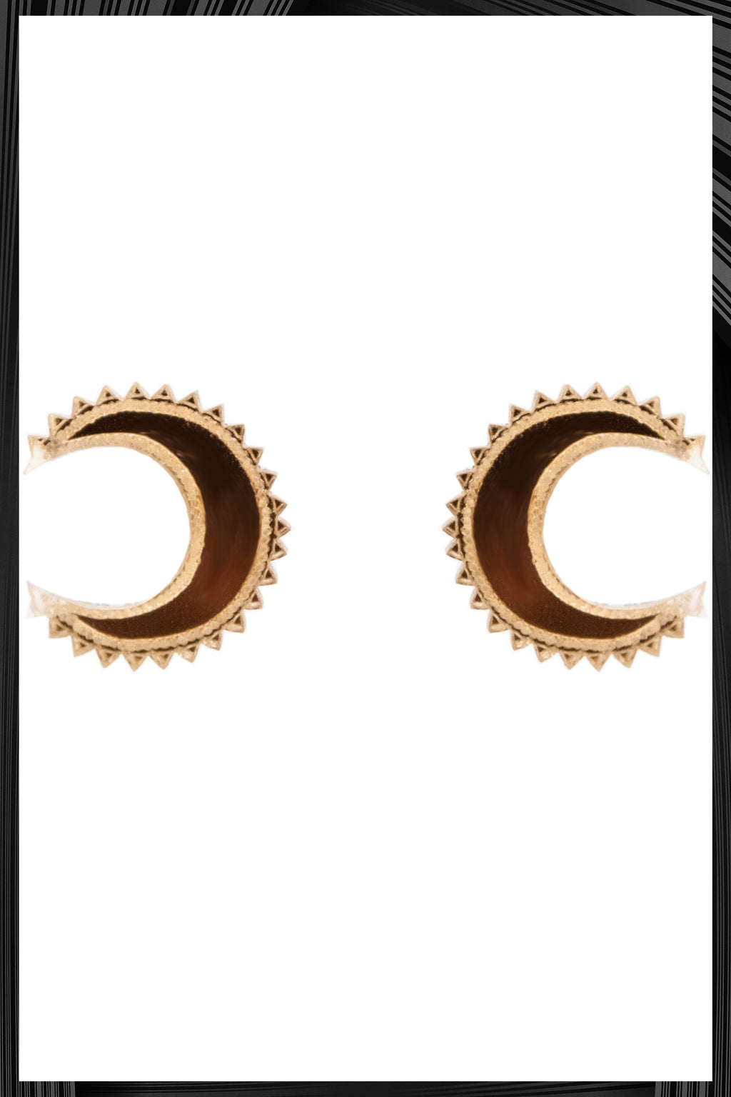 Chand Studs Small  | Free Delivery - 2-3 Week Shipping