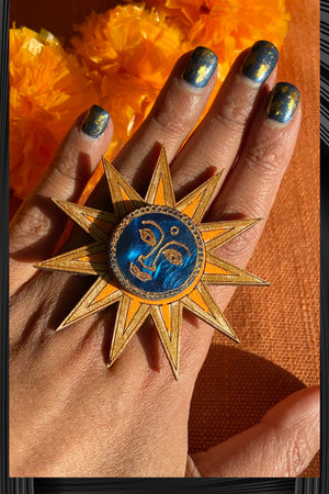 Sun Ring | Free Delivery - Quick Shipping