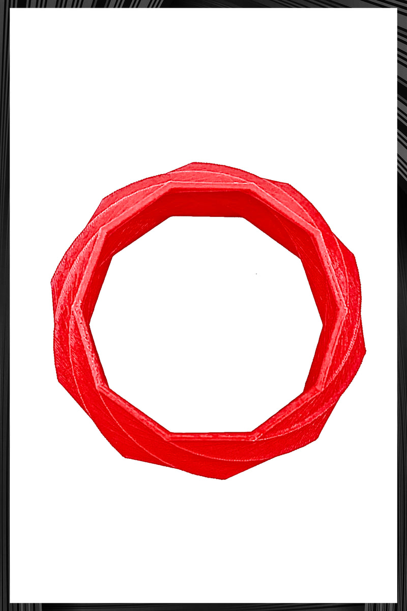 Spira S Red Matte Bracelet | Free Delivery - Quick Shipping