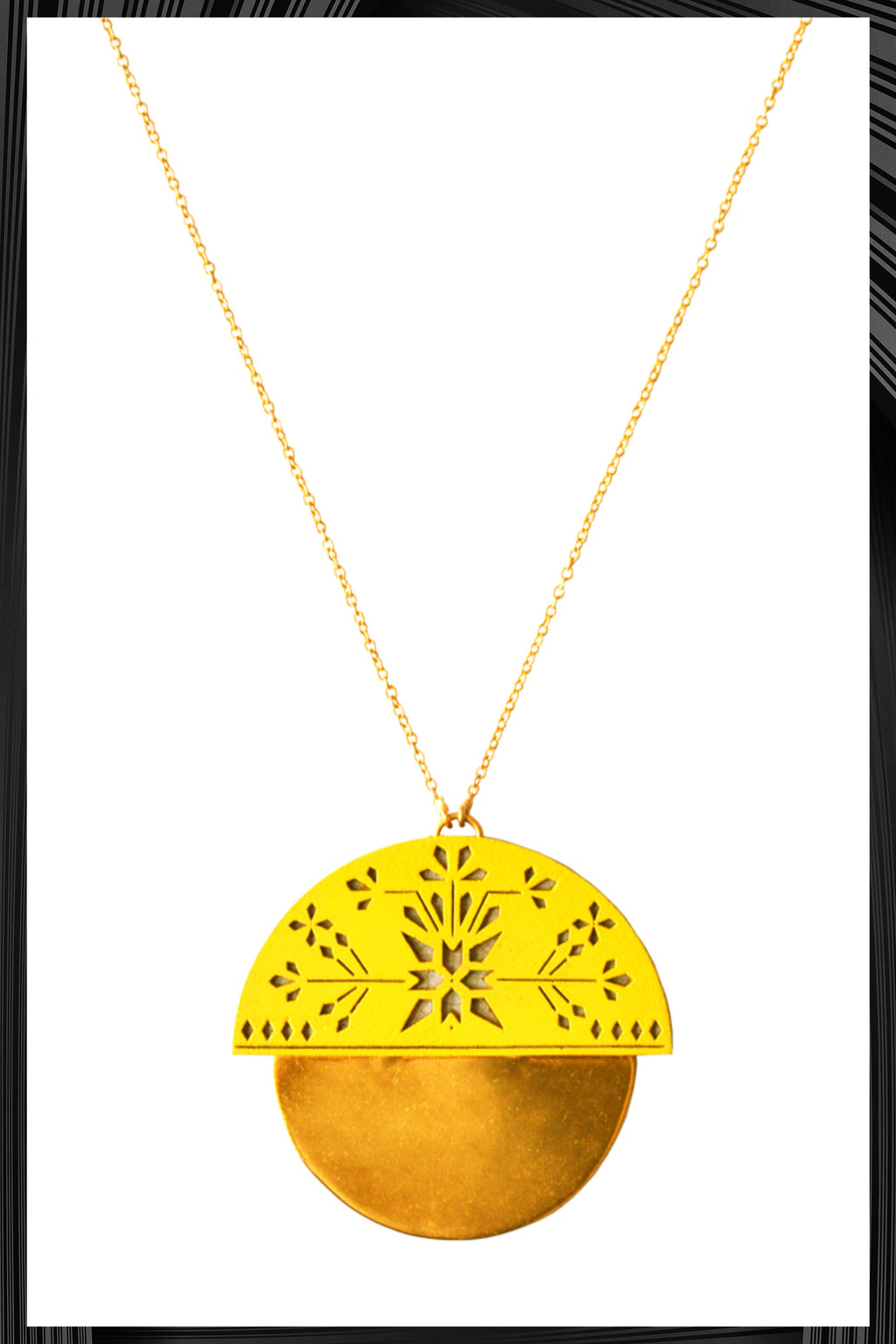 Sheils Haldi Necklace | Free Delivery - 2-3 Weeks Shipping