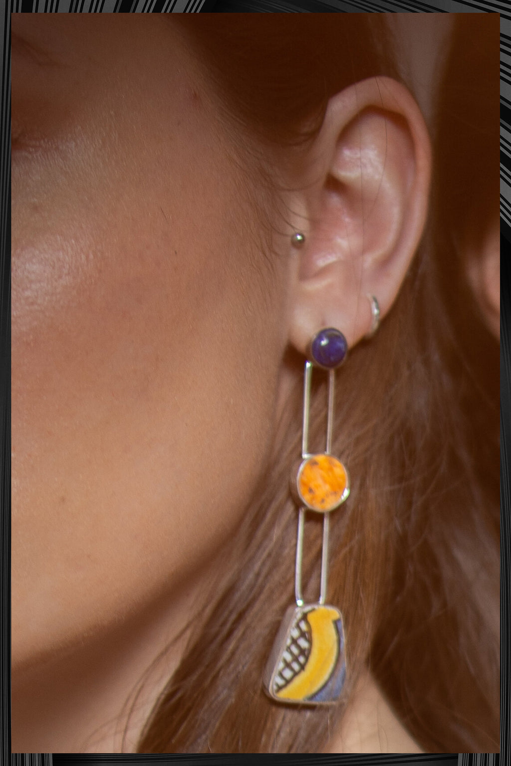 Sunshine Wave Earrings