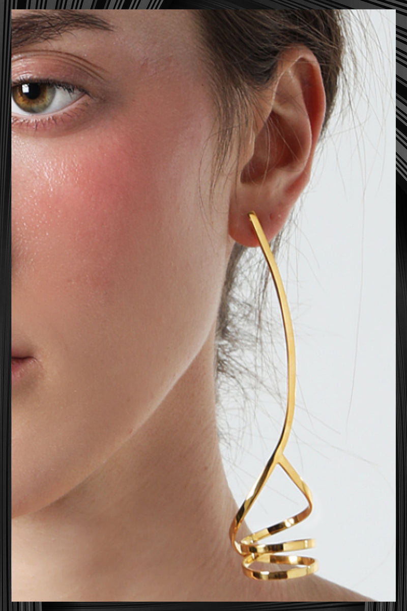 Gold Orion Earrings