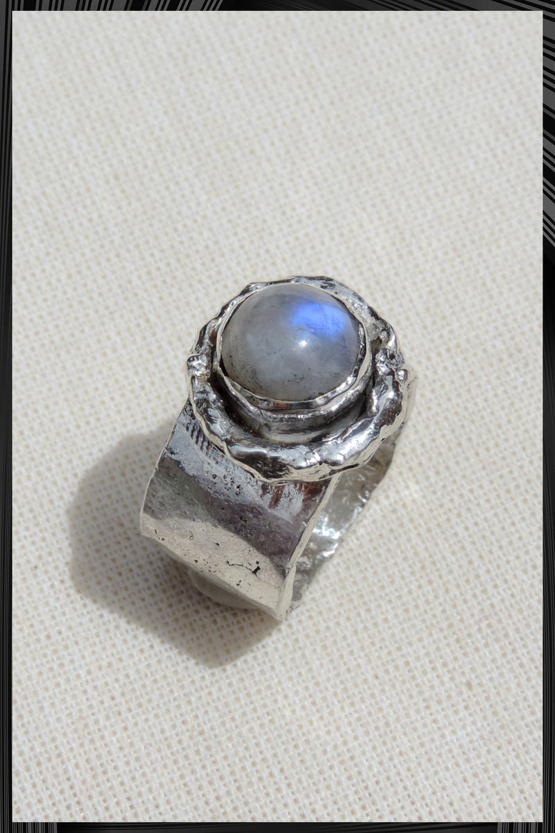 The Moon Stone Ring